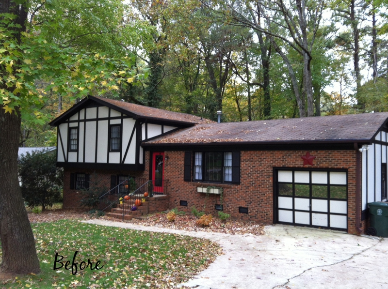 Before And After Is It Worth Painting The Exterior Of Your Home