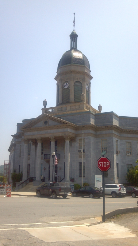Downtown Murphy, NC 28906 Courthouse