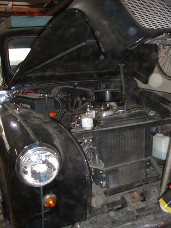 Austin FX 4 electric conversion