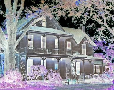 Stylized Haunted House