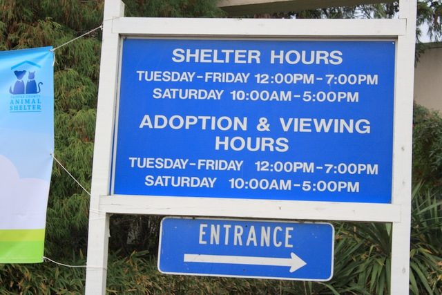 Fairfax County animal shelter hours of operation