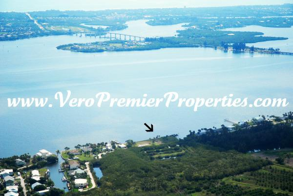 RIVERFRONT LAND FOR SALE, SEBASTIAN FLORIDA, 5 ACRES ON THE WATER WITH 3 PRIVATE PONDS