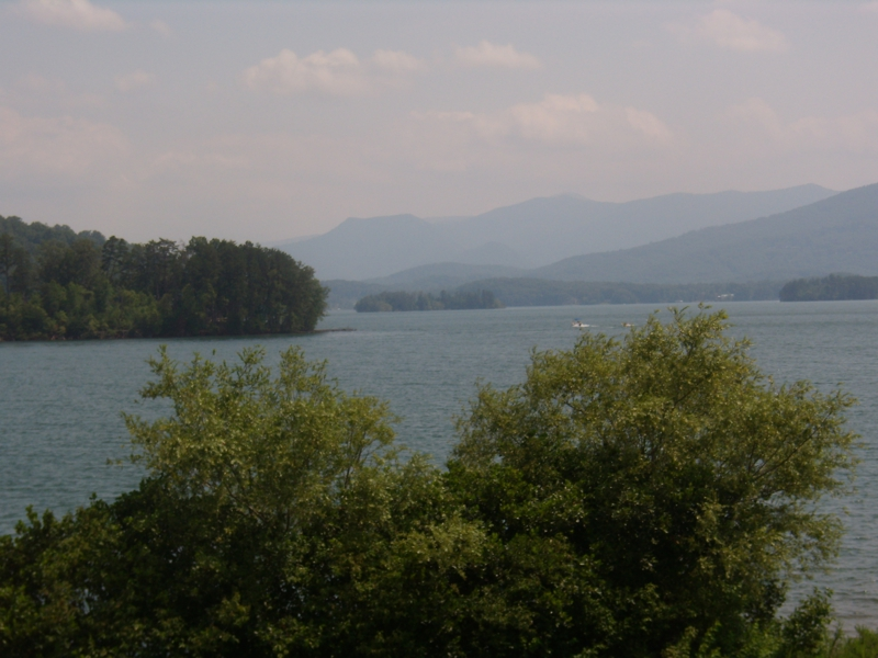 Chatuge Lake in Hayesville, NC