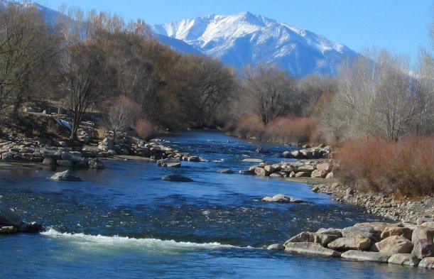 Salida Colorado Arkansas River