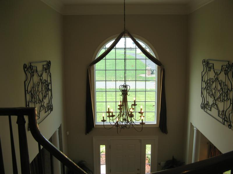 Cost Of Painting Two Story Foyer : Leads to a two story foyer houses plans designs