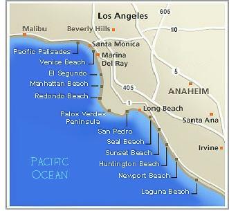 Los Angeles Estates Luxury Homes Malibu LAs Beach Cities - Where is malibu