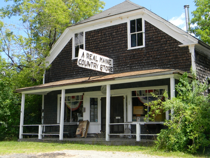 """A Real Maine Country Store"" Palermo, Maine"