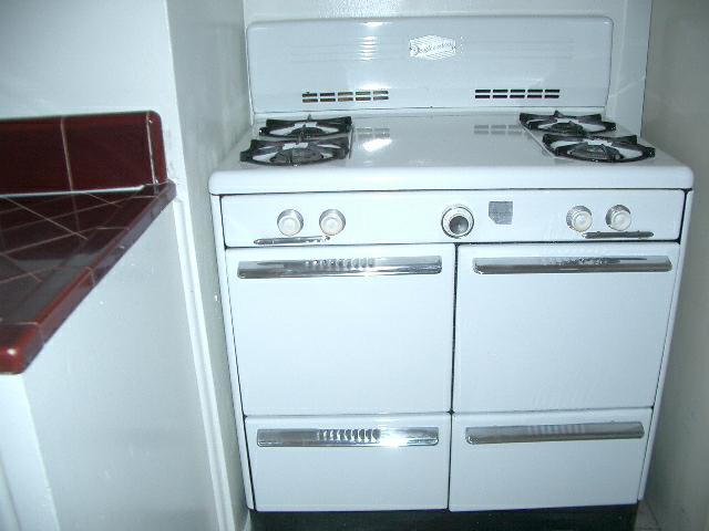 50's - 60's homes with old stoves