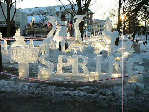Plymouth MI ice festival 2009