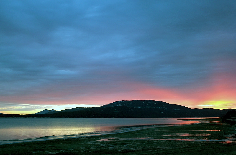 Pend Oreille River Sunset
