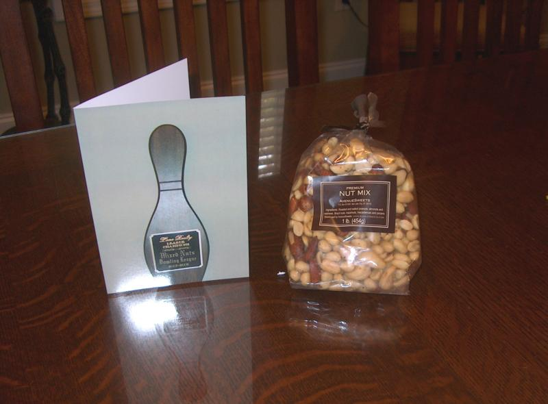card and mixed nuts