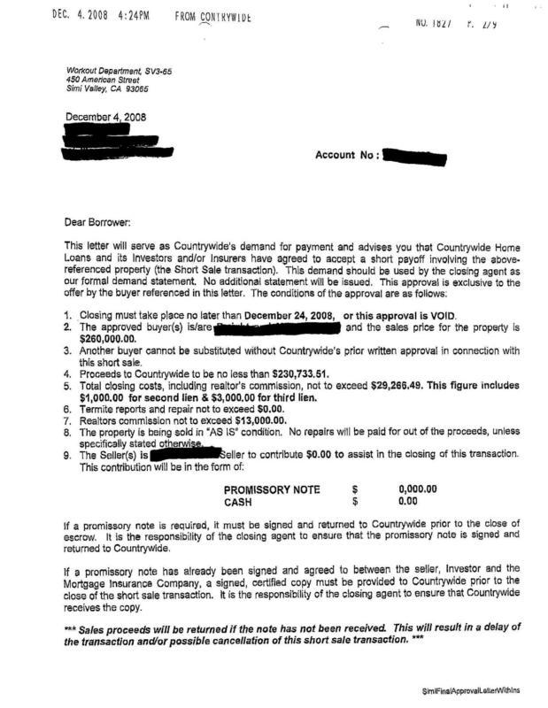 Sle Loan Document