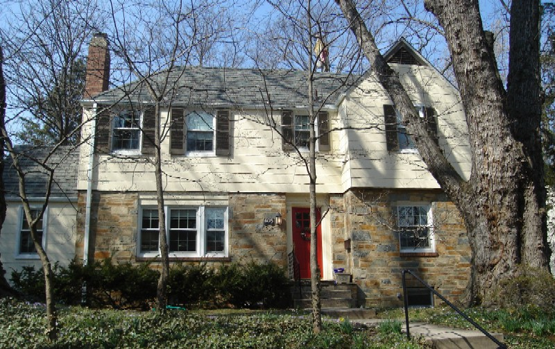 Brick and Stone Colonial - Mc Neills Addition Silver Spring MD