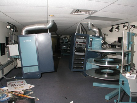 movie projector room