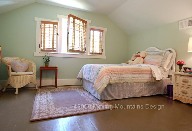 bedroom after staging by Los Angeles home staging company