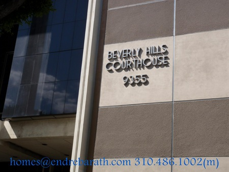 beverly hills condominiums Endre Barath