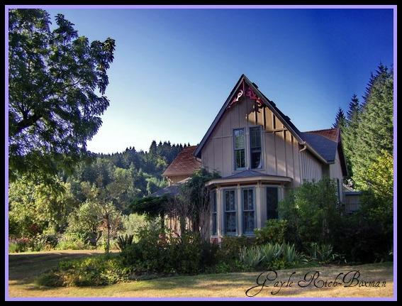 fishhawk lake real estate victorian in mist oregon
