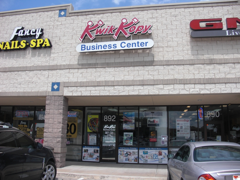BUY HOMES IN ROCKWALL, TEXAS - SPOT LIGHT ON KWIK KOPY BUSINESS CENTER