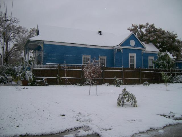 Our house Dec 97...can you believe this is New Orleans?