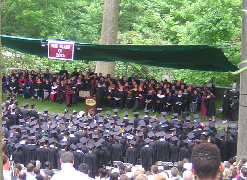 Swarthmore College Graduation 2012