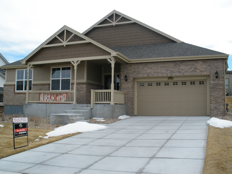 New ranch style home in beacon point for New ranch style homes