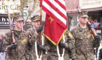 Veteran's Day Parade in Nashville TN