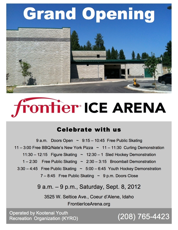 NEW Frontier Skate Arena in Coeur d'Alene, ID