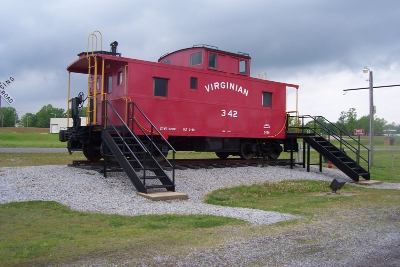 Virginian Railroad Caboose