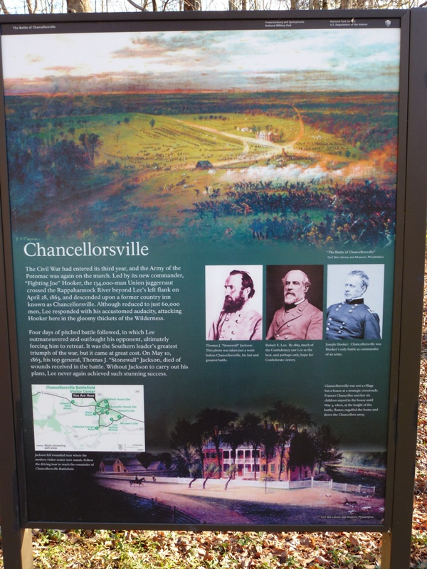Chancellorsville And The Death Of Thomas Quot Stonewall
