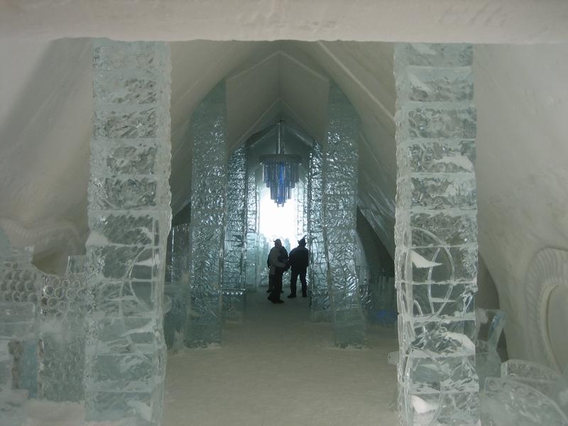 ice hotel common areas