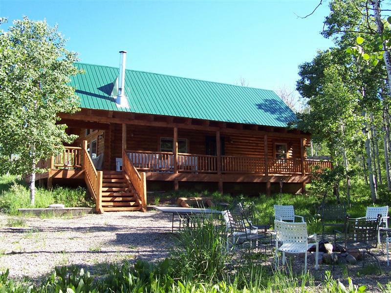 Sold log cabin on 63 acres in legacy ranch monte for Utah log cabins