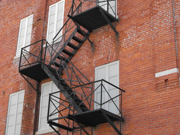 "<a href=""http://www.publicdomainpictures.net/view-image.php?image=21107&picture=fire-escape"">Fire Escape</a> by Eddie Fouse"