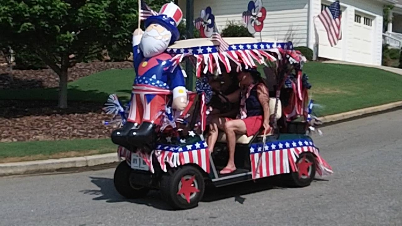 July 4th Parade Winning Cart
