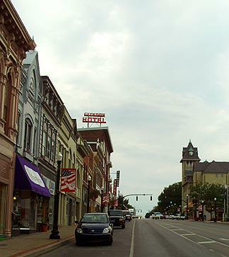 Richmond KY downtown