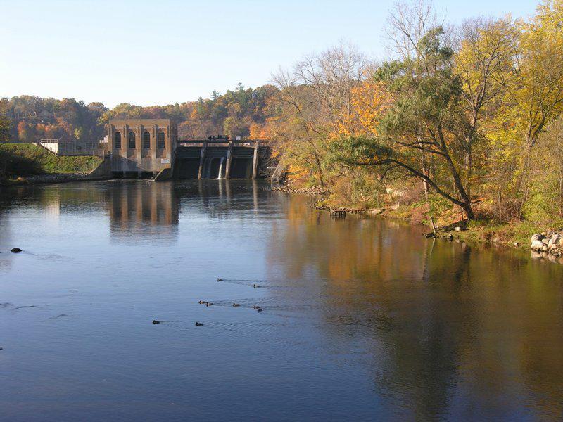 thornapple river dam cascade mi