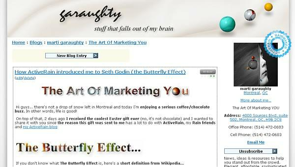 garaughty, blog design, graphics, marketing, wordpress