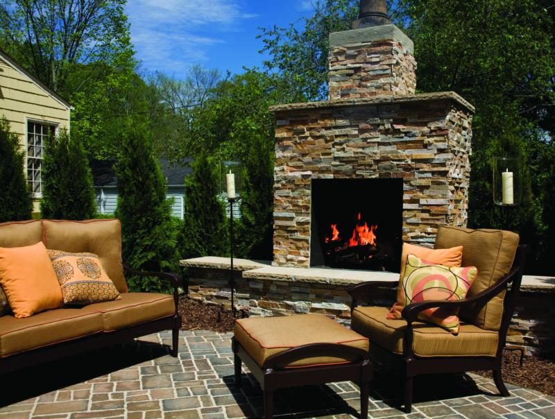 Backyard Fireplace Pictures : outdoor fireplace pictures image search results