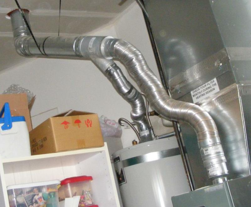 Gas water heater gas water heater vent pipe for Water heater pipe