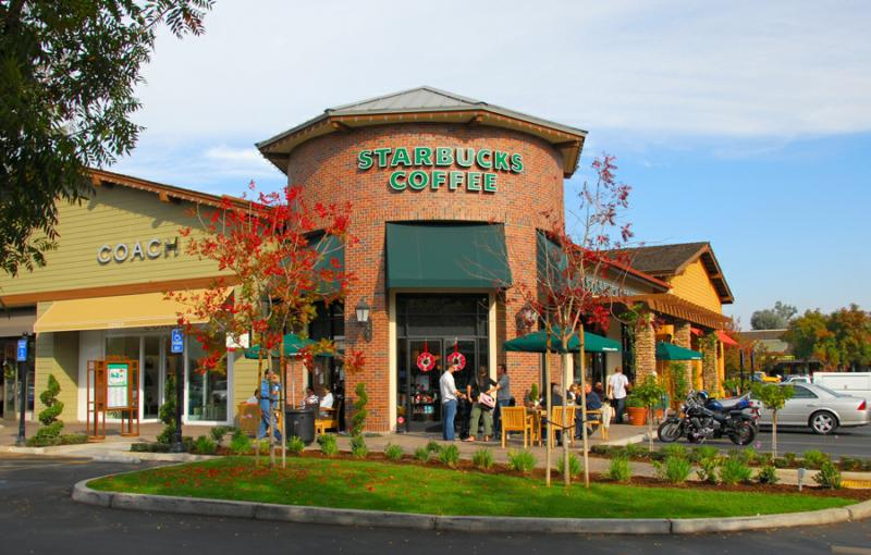 Starbucks In The Fig Garden