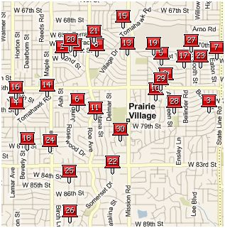 hOMES SOLD IN PRAIRIE VILLAGE LAST 30 DAYS