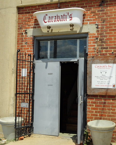 Caravatis architectural salvage,Richmond VA