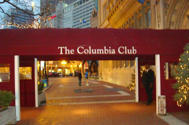 Columbia Club in Downtown Indianapolis, IN