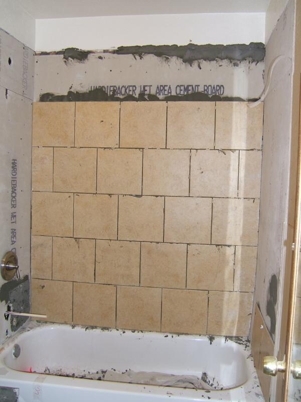 Hardibacker Cement Board : Hardibacker board