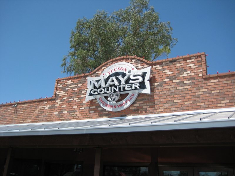 Mays Counter Chicken and Waffles: Restaurants in Tucson
