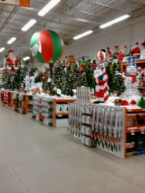 Christmas decorations at home depot ideas christmas Home depot decor