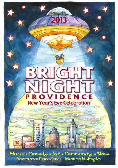 Bright Night RI New Year's Eve Celebrations in real estate