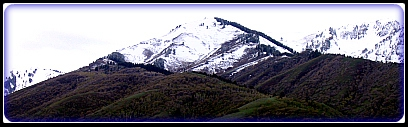 Wellsville Mountains Cache Valley Utah