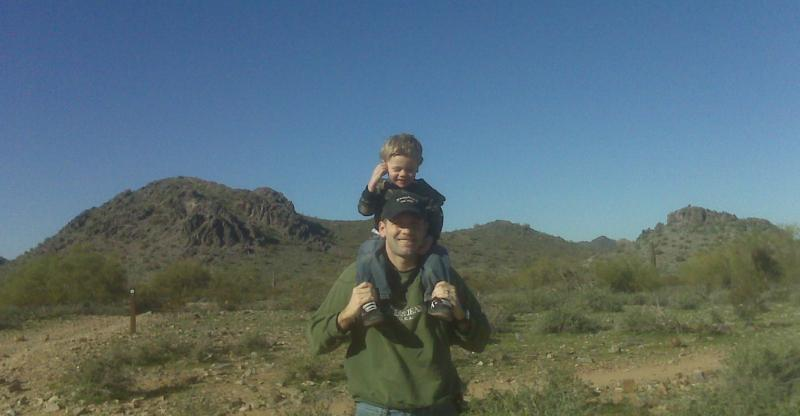Paul & Jack - Phoenix Mountain Preserve