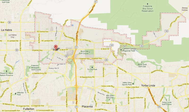 Why You Should Buy A Home In Brea CA - Where is brea california on the california map