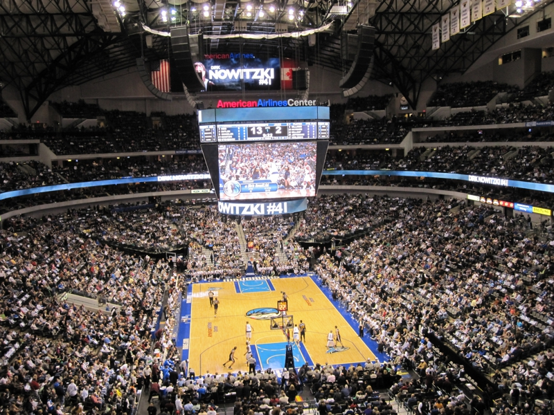 Mavericks American Airlines Center